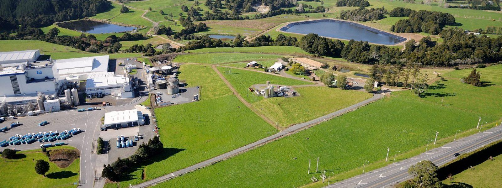 Fonterra Water Storage Lagoon - Header Image